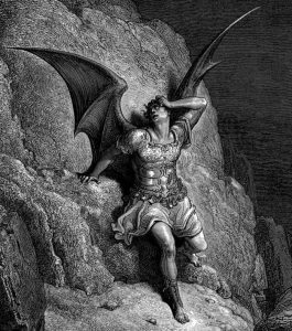 Depiction of Satan, by Gustave Doré