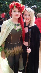 Poison Ivy (Murryn Macpherson) & Maleficent (Honor Ellis-French)