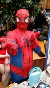 Xander McEwan as Spiderman