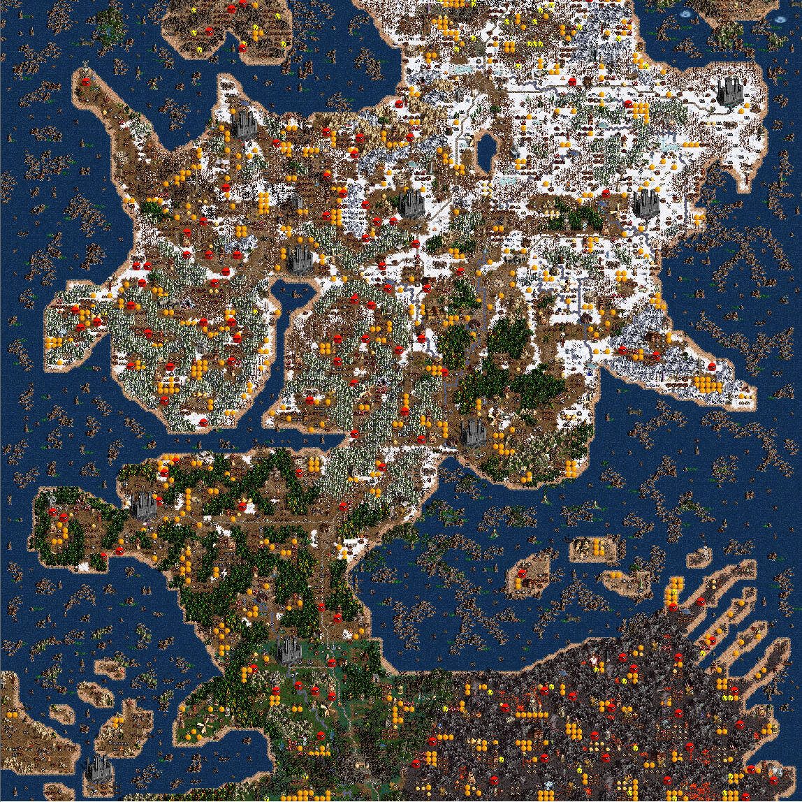 if youure not familiar with the homm map maker it effectively allows you to create any landscape with any scenarios locations monsters loot u anything
