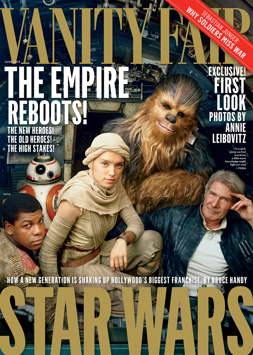 Star Wars The Force Awakens Meets Vanity Fair