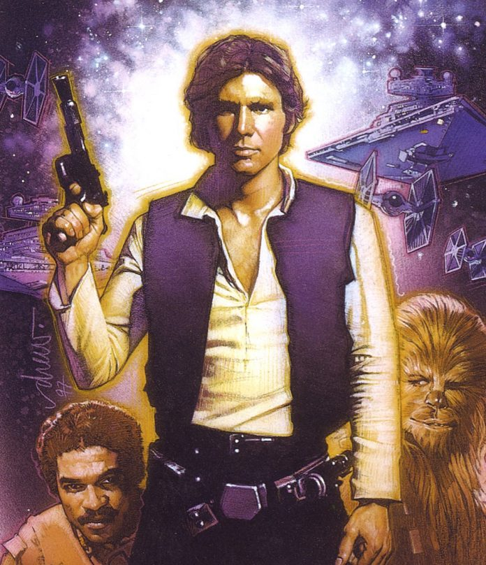 Young Han Solo.