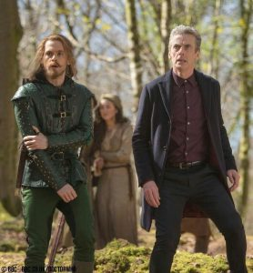 Peter Capaldi in Robot of Sherwood