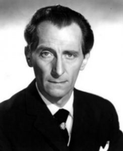 Peter Cushing also appeared in two 1960s Doctor Who films and starred among others as Dr. Frankenstein, Sherlock Holmes and Van Helsing opposing his real-life friend Christopher Lee.