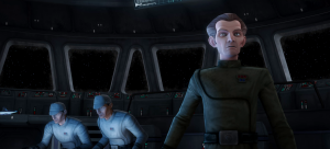 Tarkin during the Clone Wars (from the Clone Wars animated series)