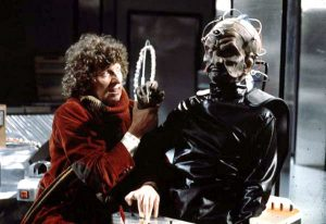 The Fourth Doctor and Davros in Genesis of the Daleks