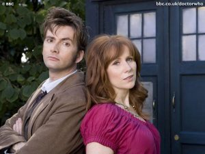 Tenth Doctor and DonnaNoble