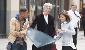 Rigsy, the Doctor, and Clara