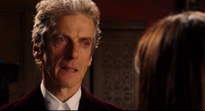 The Doctor gets a bit emotional