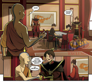 Fire Lord Zuko and Avatar Aang