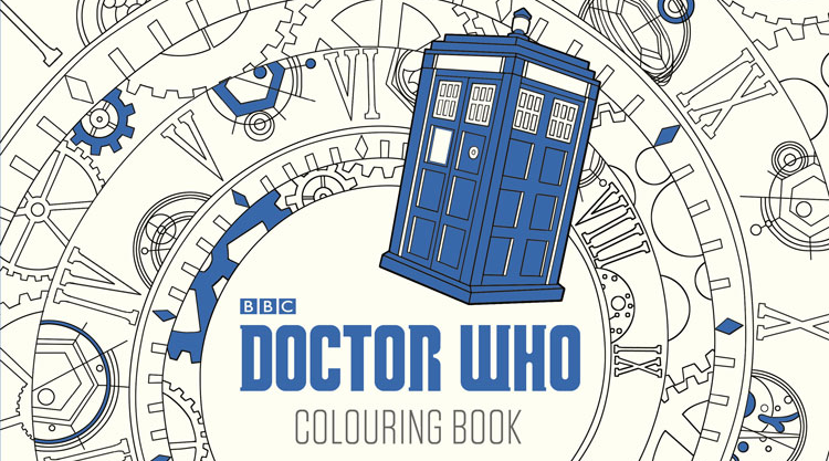 bbc worldwide released a brand new doctor who colouring book - Doctor Who Coloring Book