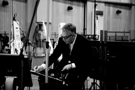 Howard Shore composing
