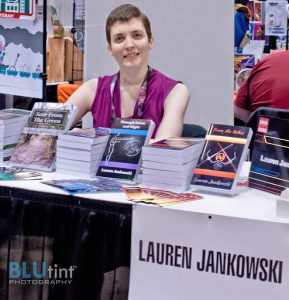 Lauren Jankowski represents for indie authors (2014)