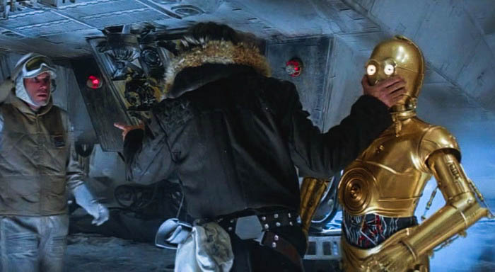 C-3PO talking too much for his own good