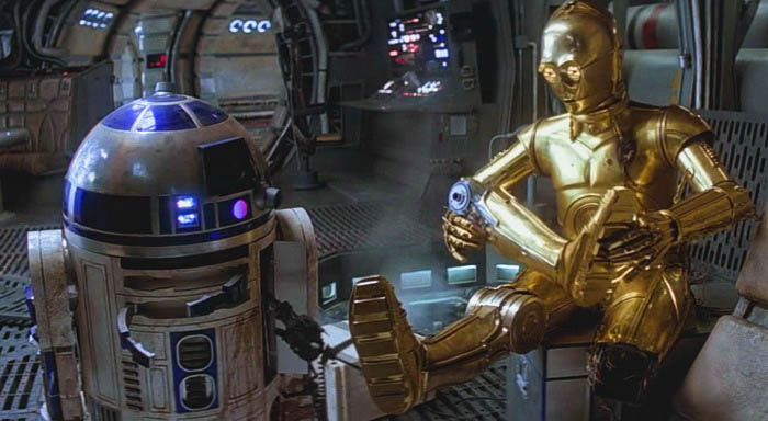 C-3PO and R2-D2 together for better and for worse