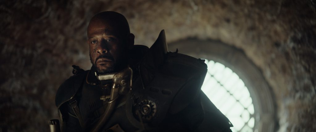Saw Gerrera (Forest Whitaker), the grim veteran known from the Clone Wars series (source: starwars.com)