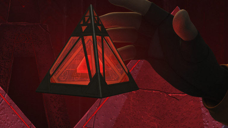 Sith holocrons are ancient devices imbued with part of their creators' personality (image source: starwars.com)