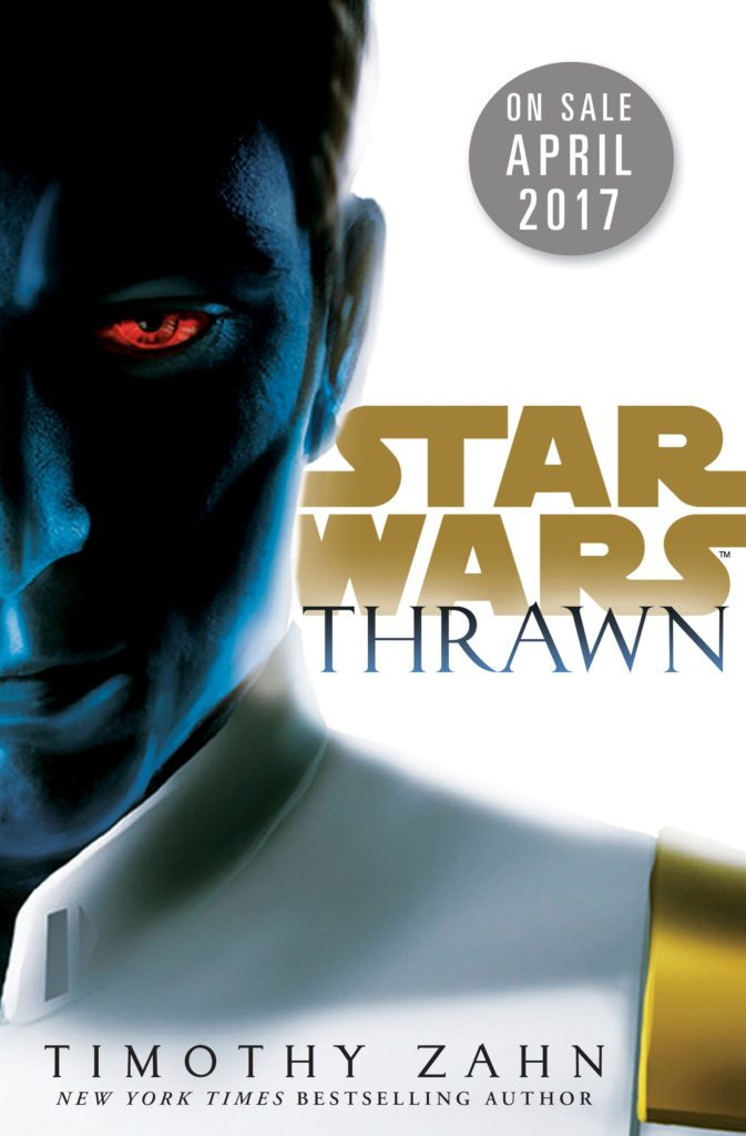 Thrawn as portrayed on the preliminary cover of Timothy Zahn's upcoming canonical novel