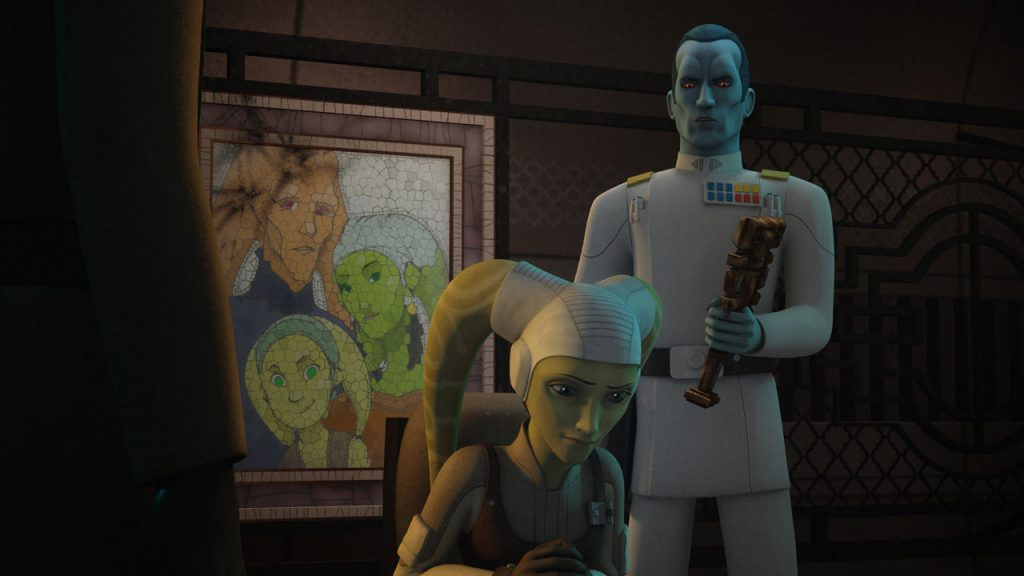 Thrawn has no problem discovering who Hera is. He had spent time studying her, after all.