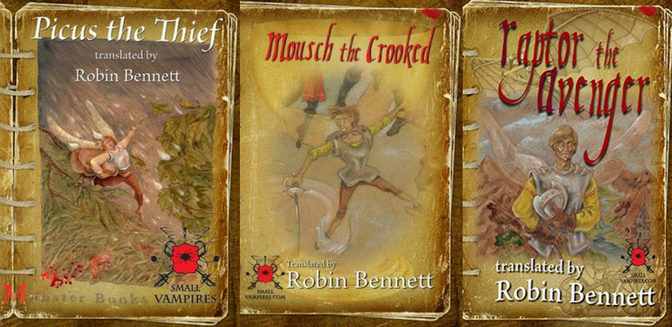The Small Vampires Series by Robin Bennett