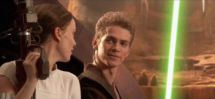 Anakin and Padme – a not-so-explosive couple