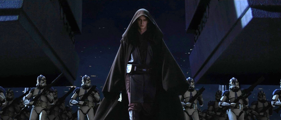 As the Emperor initiated Order 66, Anakin Skywalker - Darth Vader attacked the Jedi Temple and killed all the Jedi inside