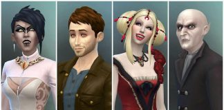The Sims 4 Vampire Game Pack: Sexy, Bitey, Batty Vampires!