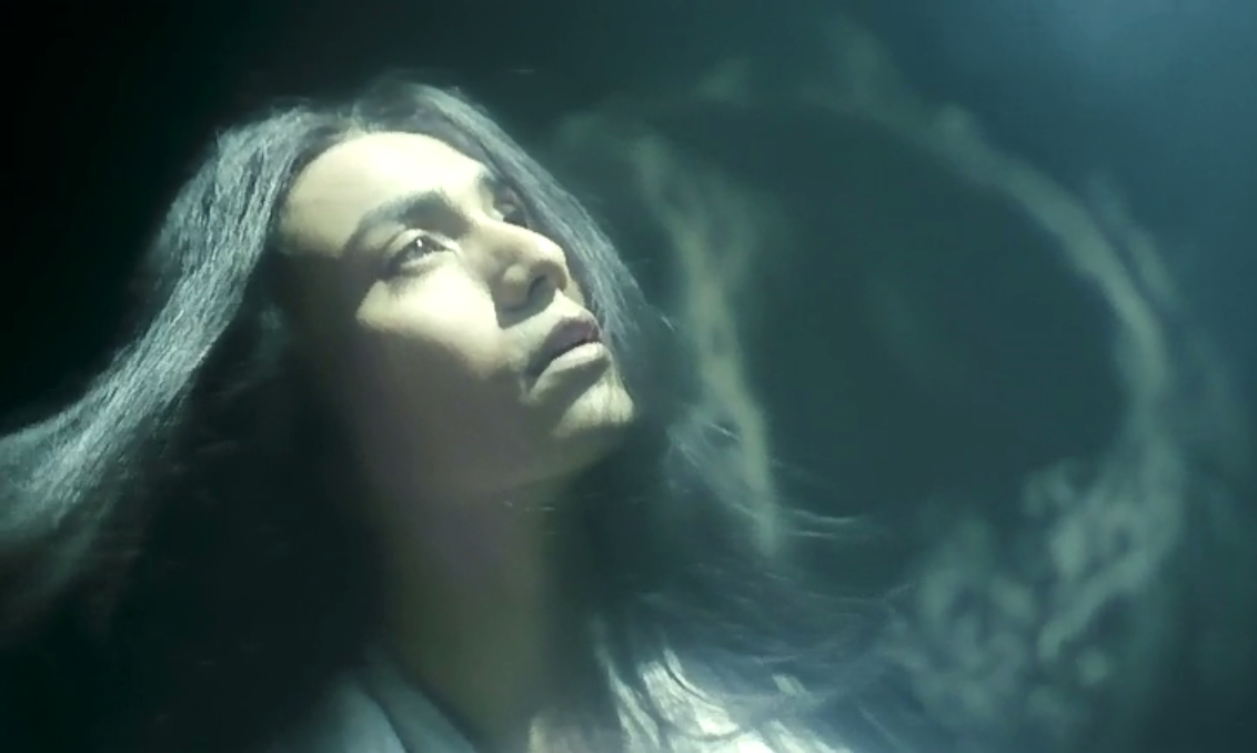 Chen Kun as Wang Sheng experiencing a sensual dream. Also, he has the best hair in all the Empire.