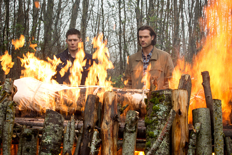 Dean Winchester Has ADHD - Charlie's Funeral Pyre