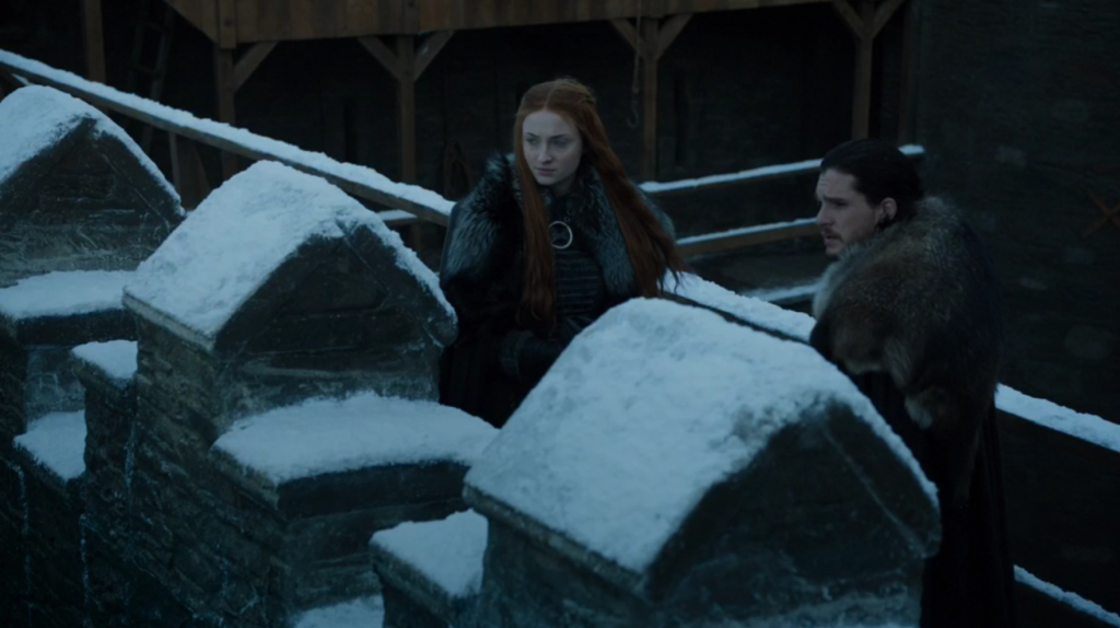 Epic Sisters and Ed Sheeran Game of Thrones Dragonstone Review Jon Snow and Sansa Stark At Winterfell On The Wall