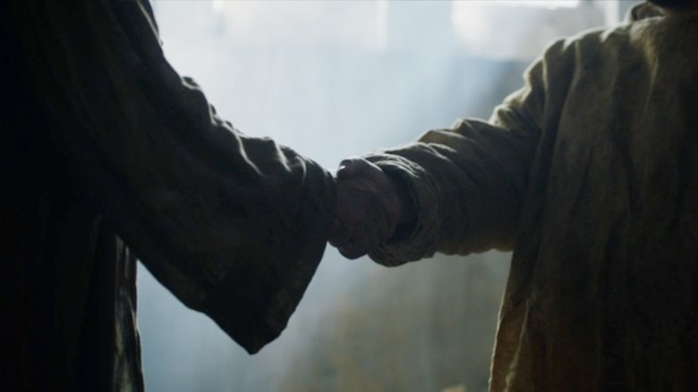 Game of Thrones The Queens Justice Sam and Jorah Shake Hands