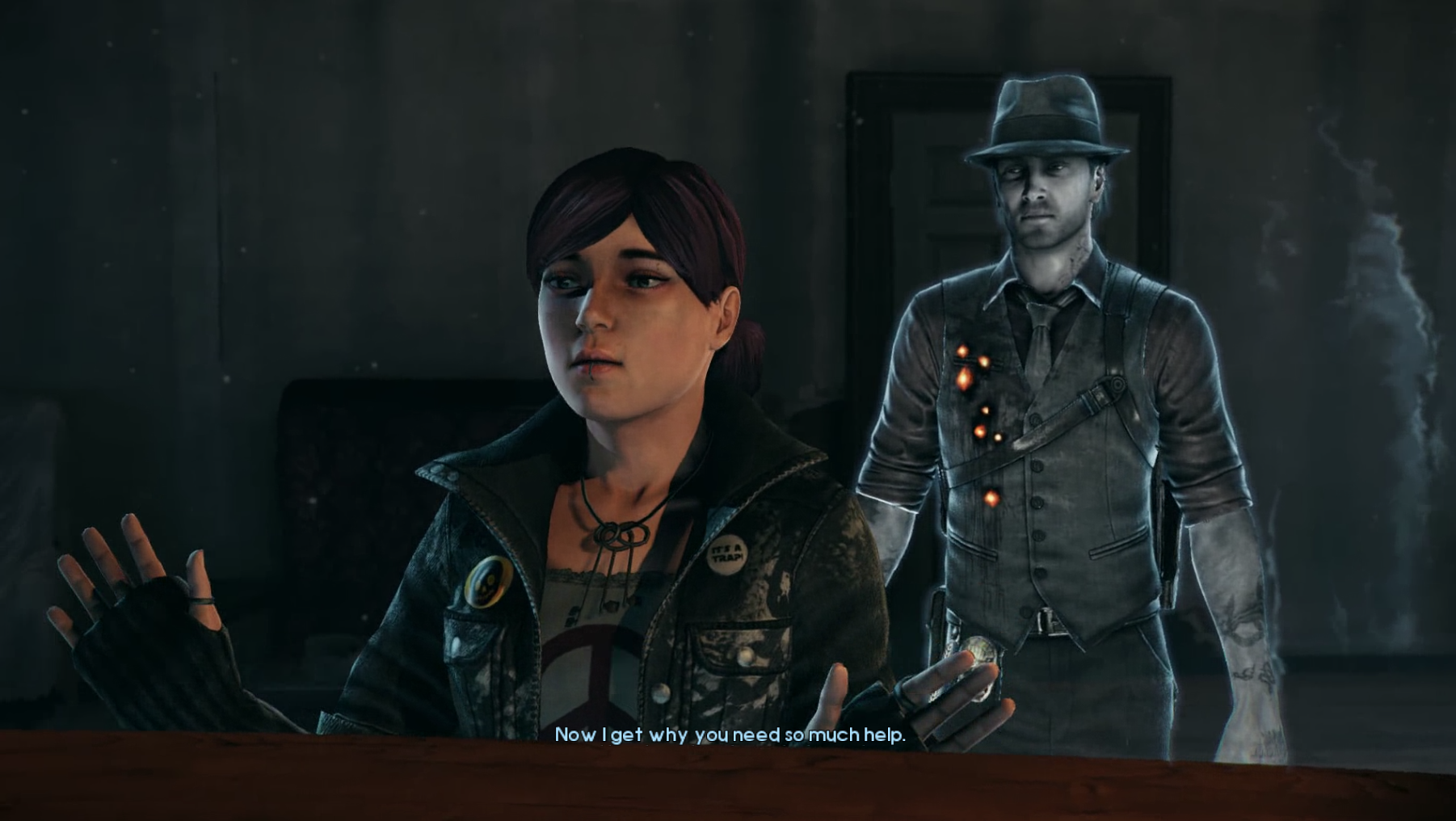 Murdered Soul Suspect - Ghostly or Ghastly MSS Joy 2